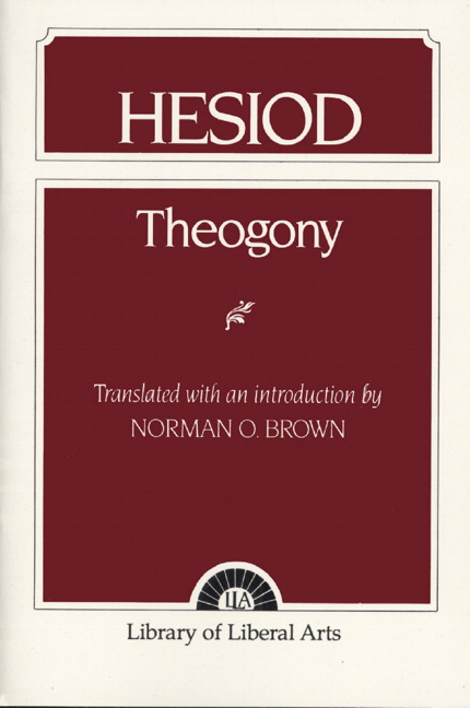 term papers hesiod The project gutenberg ebook of hesiod, the homeric hymns, and homerica, by homer and hesiod this ebook is for the use of anyone anywhere at no cost and with almost no.
