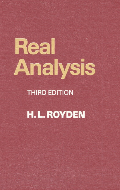 real analysis 4th edition pdf
