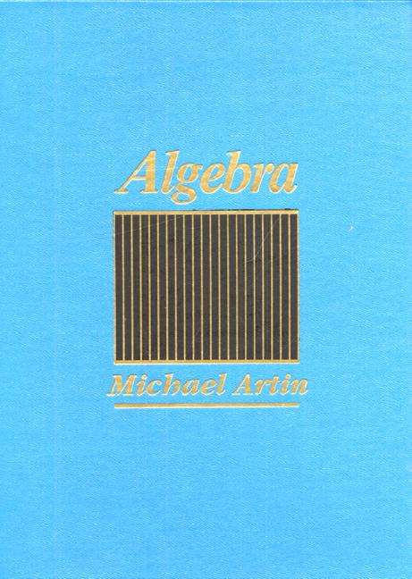 Artin, Algebra | Pearson