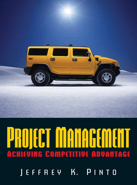 instructor s solutions manual for project management 2 e pinto Solution manual for project management pinto  manual e-only solutions manual for kinetics  exchanger equipment field manual instructors guide and solutions.