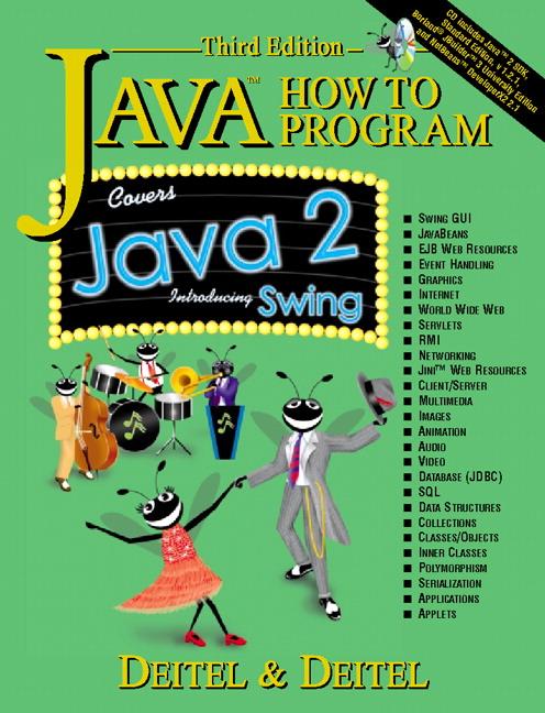 Deitel & Deitel, Java How to Program, 3rd Edition | Pearson