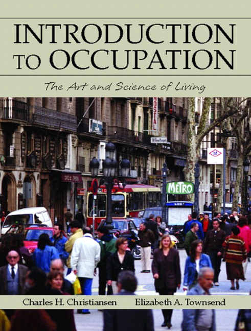 Introduction To Occupation: The Art And Science .