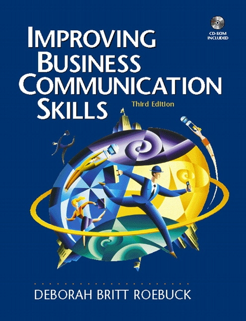 Business Communication Book Cover : Roebuck improving business communication skills th