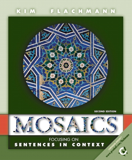 "mosaics reading and writing essays 6th edition Mosaics illustrates how reading and writing are part of a interrelated process, and encourages students to discover how the ""mosaics"" of their own reading and writing processes work together to form a coherent whole."