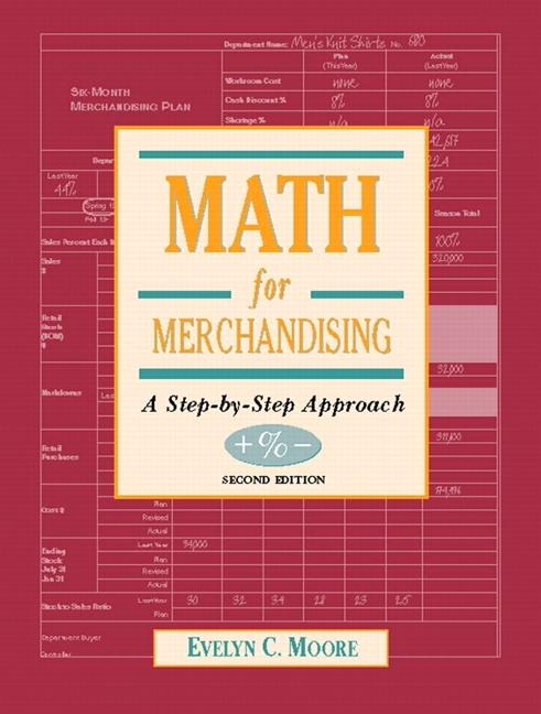 Merchandising Math Books - Retail Math Books