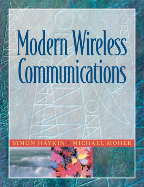 Haykin moher modern wireless communications pearson book cover fandeluxe Images