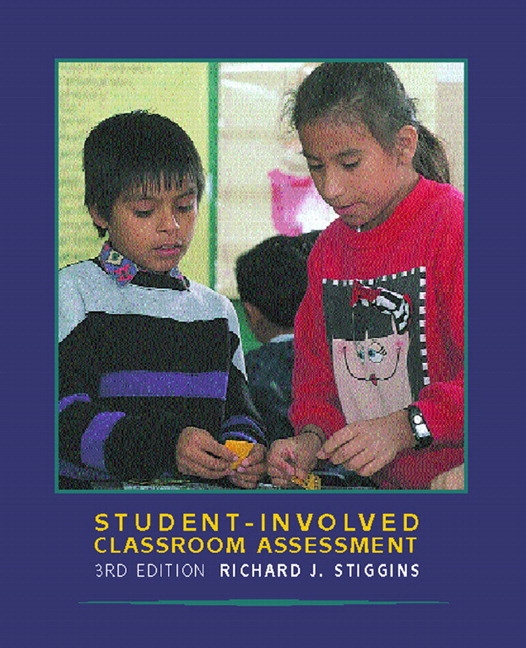 assessment essay quality stiggins Assessment balance and quality by carol/ stiggins, rick with activities and resources to help them learn and apply the skillsprofessional papers and.