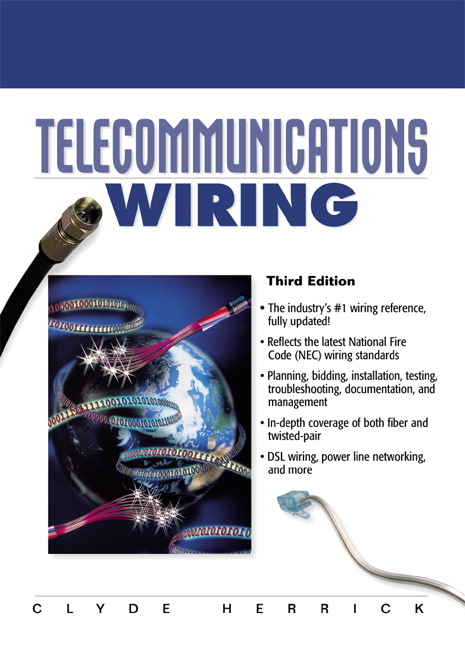 Telecommunications Wiring, 3rd Edition