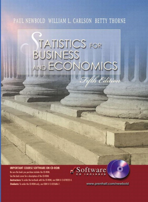 Newbold, Carlson & Thorne, Statistics for Business and