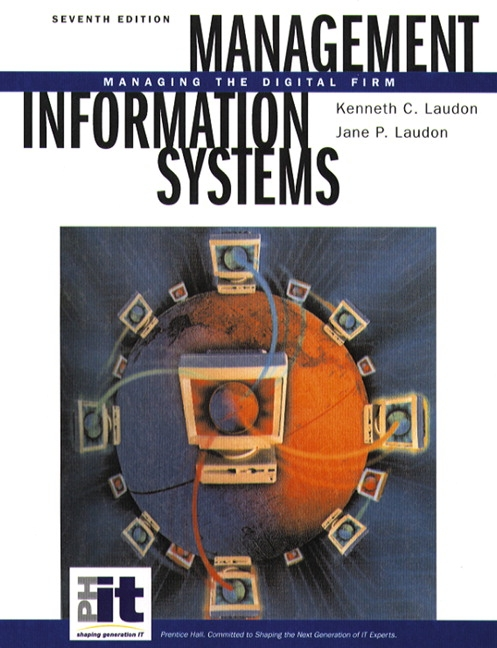 Laudon laudon management information systems 8th edition pearson management information systems managing the digital firm 7th edition laudon laudon fandeluxe Gallery