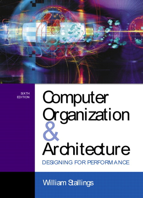 Stallings Computer Organization And Architecture Designing For Performance Pearson