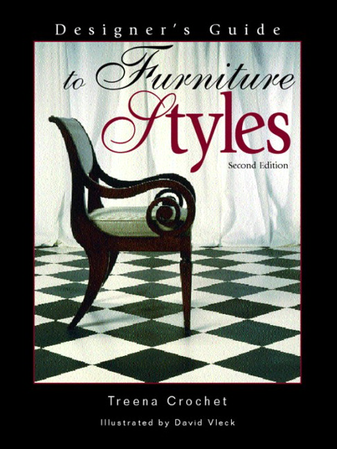 Crochet, Designer's Guide to Furniture Styles, 3rd Edition