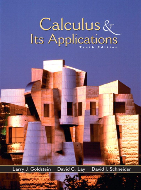 calculus with applications 11th edition pdf