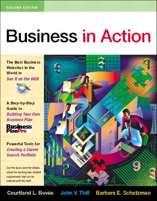 Bovee thill business in action pearson business in action 2nd edition bovee thill schatzman fandeluxe Images