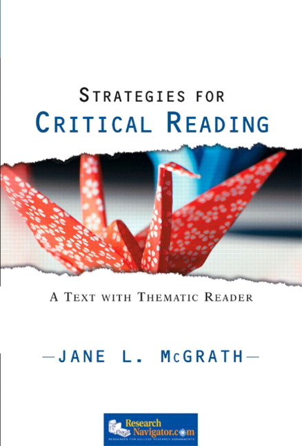 reading for critical thinking Critical thinking skills thinking the the activity pages in the critical thinking remember seeing and reading on the page.