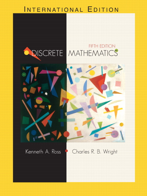 discrete mathematics 5th edition ross wright solutions pdf