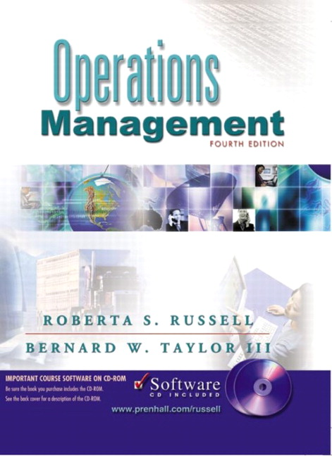 Russell Taylor Operations Management And Student CD 4th