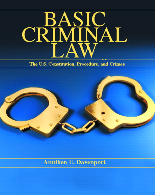 an overview of crime and criminal law in the united states Overview of federal criminal cases, fiscal year 2016 summary the united states sentencing commission received information on 67,874 federal criminal cases in which the offender was sentenced in fiscal year 2016.