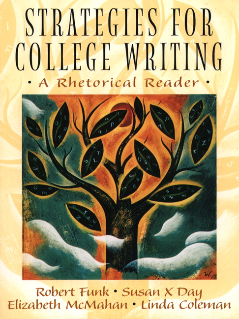 writing through an important thesis an important rhetoric reader