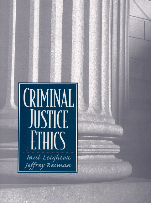 criminal justice ethics in the u s