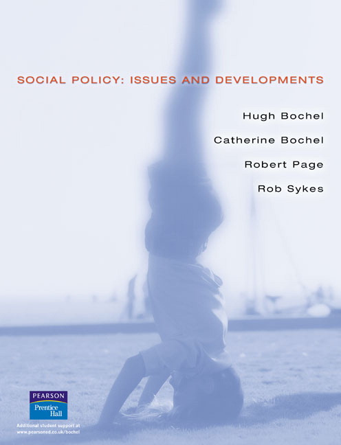 Social Policy: Issues and Developments