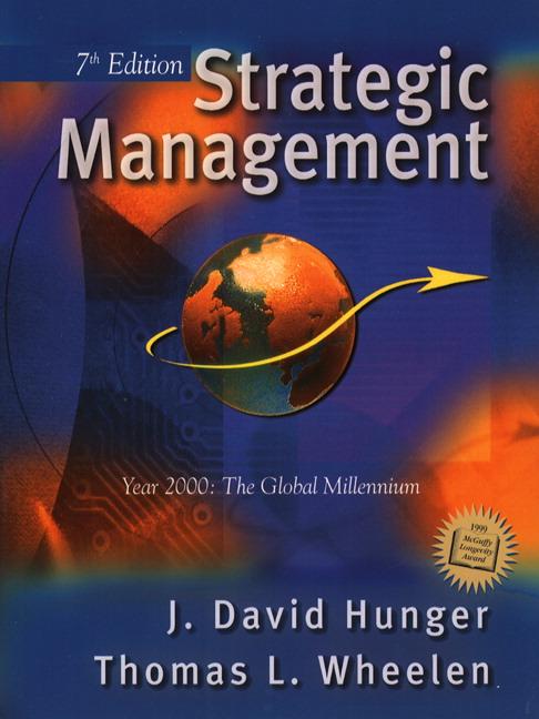 wheelen hunger strategic management