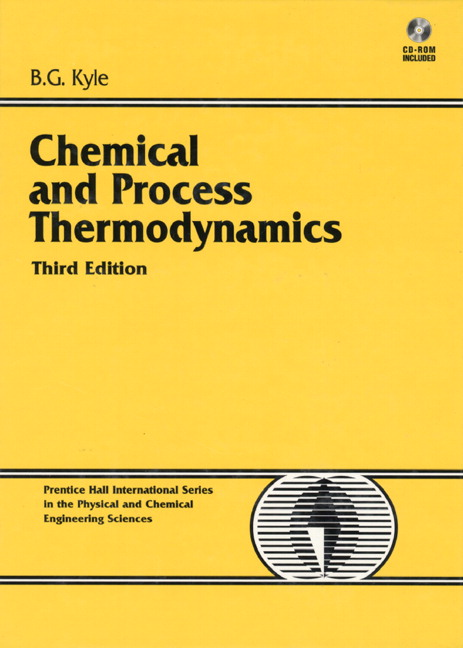 Chemical and Process Thermodynamics, 3rd Edition