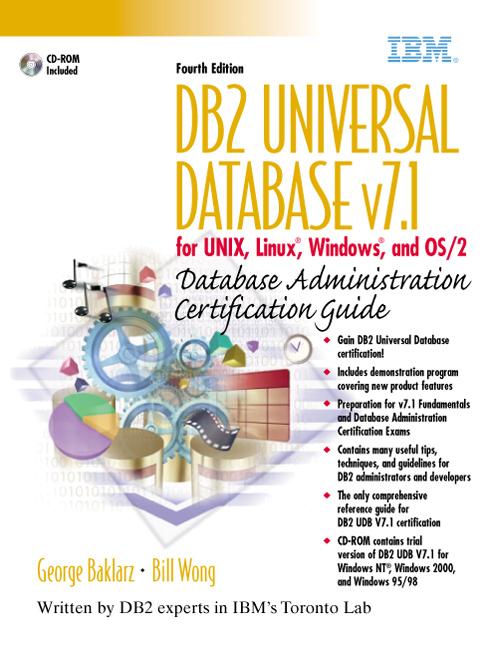 Baklarz & Wong, DB2 Universal Database V8 for Linux, UNIX, and ...