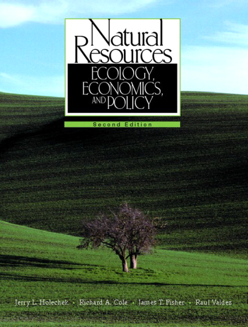 economics and natural resource Environmental economics provides you with the analytical tools needed to understand why many of the earth's natural resources are under threat, and what can be done.