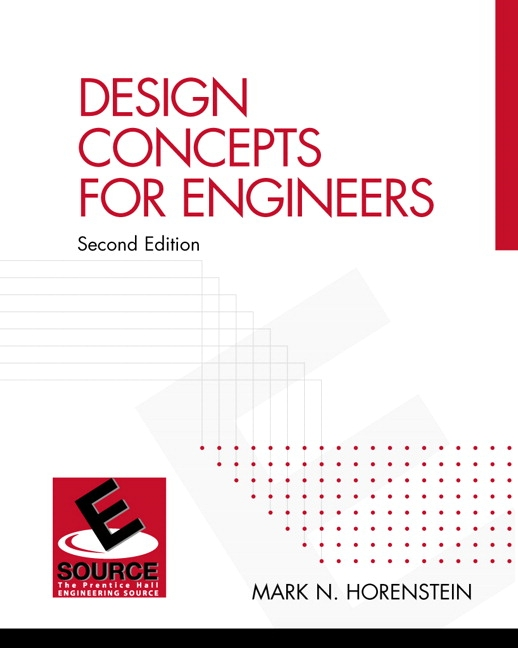 Design Concepts for Engineers 2nd Edition
