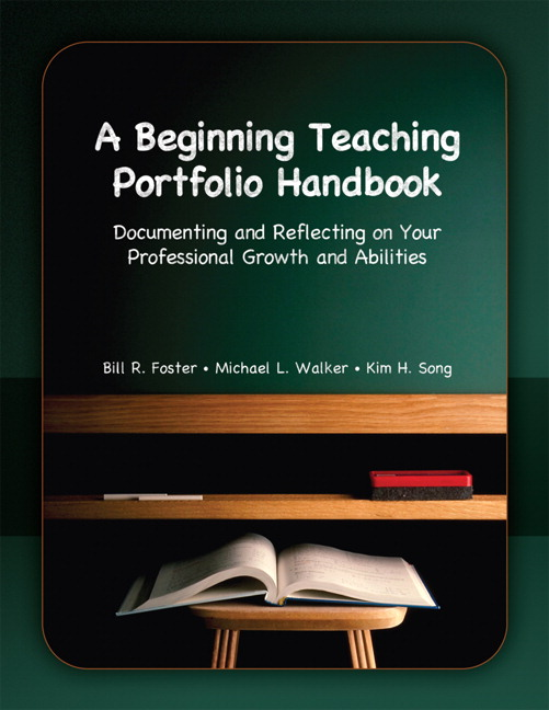 professional teaching portfolio template - foster walker song beginning teaching portfolio