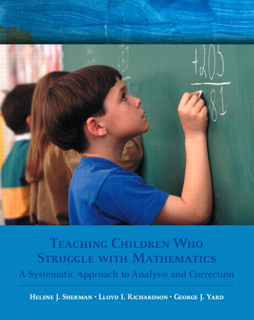 an analysis of teaching mathematics in children The mathematics knowledge that children acquire before of learning and teaching mathematics topic ed encyclopedia on early childhood development.