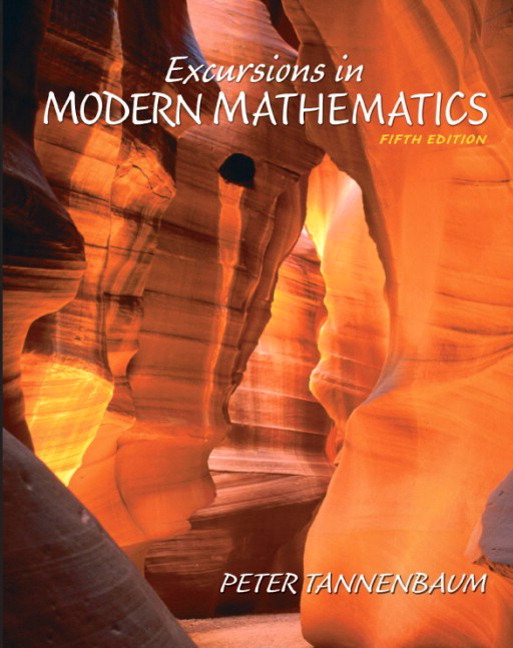 Excursions in modern mathematics (5th edition) by peter tannenbaum.