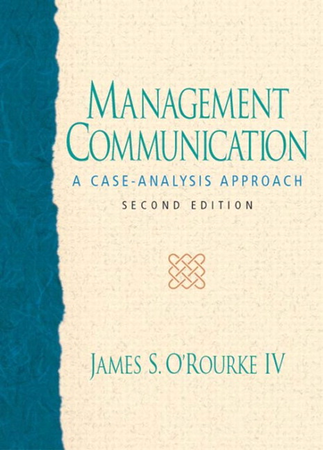 managerial communication 2 Managerial communication: strategies and applications focuses on communication skills and strategies that managers need to be successful in today's workplace known for its holistic overview.