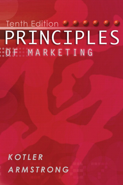 Kotler armstrong principles of marketing pearson principles of marketing with free marketing updates access code card 10th edition fandeluxe Images