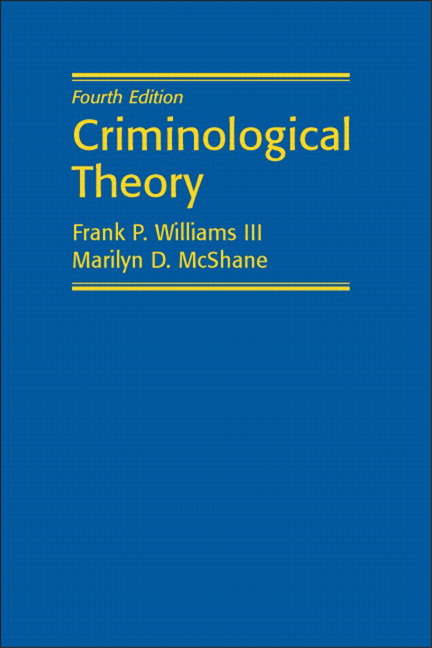 criminological theories dealing with the departed N a criminological theory, then, is an explanation of the relationship between people's characteristics and the possibility that they will engage in criminal behavior weaknesses of current theories n two major difficulties confront criminologists.