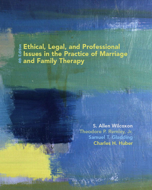 allen family ethical dilemmas Ethical, legal, and professional issues in the practice of marriage and family therapy has 45 ratings and 0 reviews this best-selling text for students.