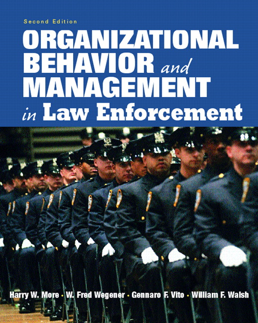 origins and organization of law enforcement .