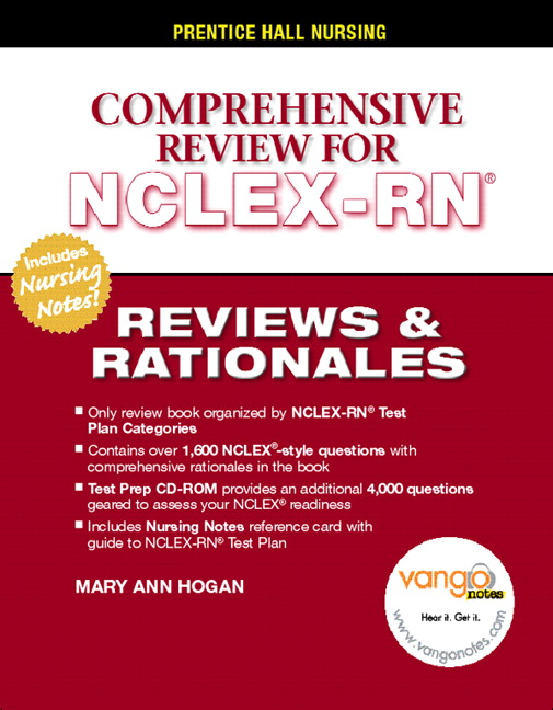 Pearson's Reviews & Rationales: Comprehensive NCLEX-RN Review