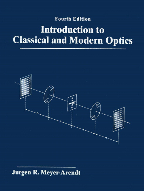 Introduction to Classical and Modern Optics, 4th Edition