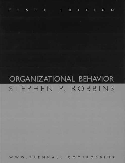 organizational behavior robbins Dr judge is a co-author of essentials of organizational behavior, 14th ed, with stephen p robbins, and staffing organizations, 8th ed, with herbert g heneman iii he is married and has three children-a daughter who is a health care social worker, a daughter who is studying for a master's degree, and a son in middle school.