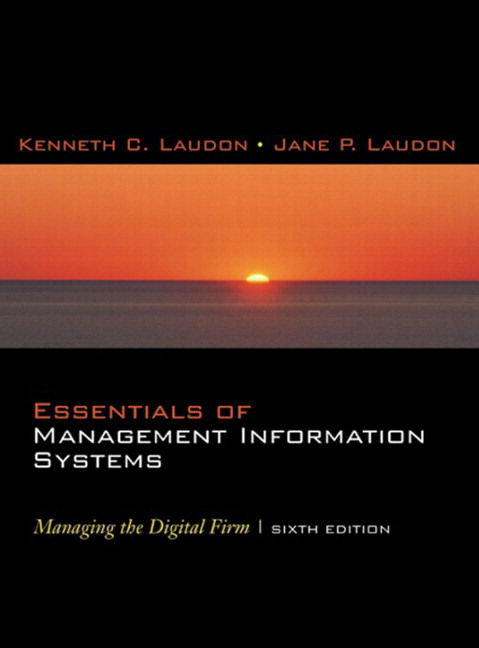 case study of chapter10 of mis by laudon laudon Laudon and laudon continue to define the mis course with their latest  the past  two years, and includes new opening, closing, and interactive session cases.