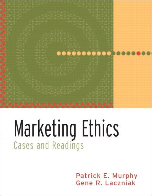 Marketing Ethics: Cases and Readings