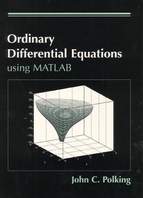 Polking & Arnold, Ordinary Differential Equations Using