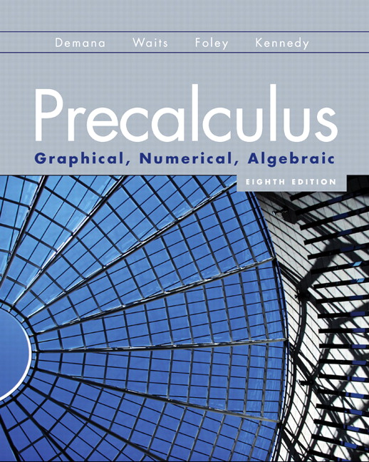 Precalculus Textbook Pdf