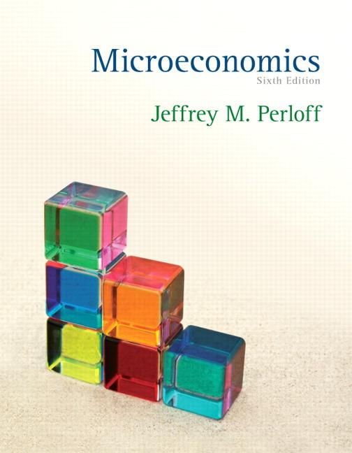 Perloff, Microeconomics | Pearson