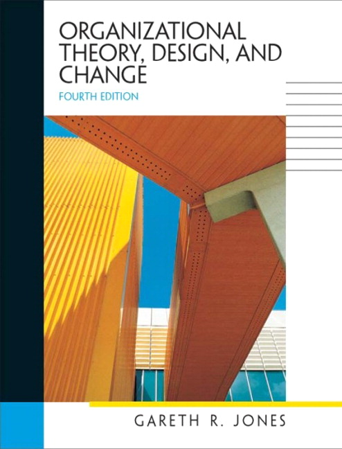 organizational theory design and change canadian edition pdf
