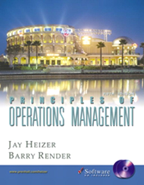 Heizer Render Principles Of Operations Management And
