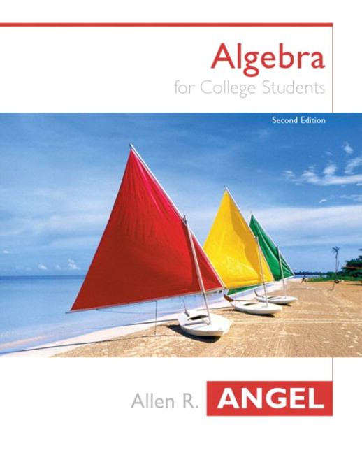 Angel & Angel, Algebra for College Students, 3rd Edition