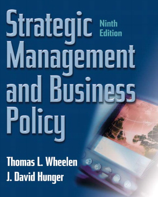 wheelen hunger strategic management